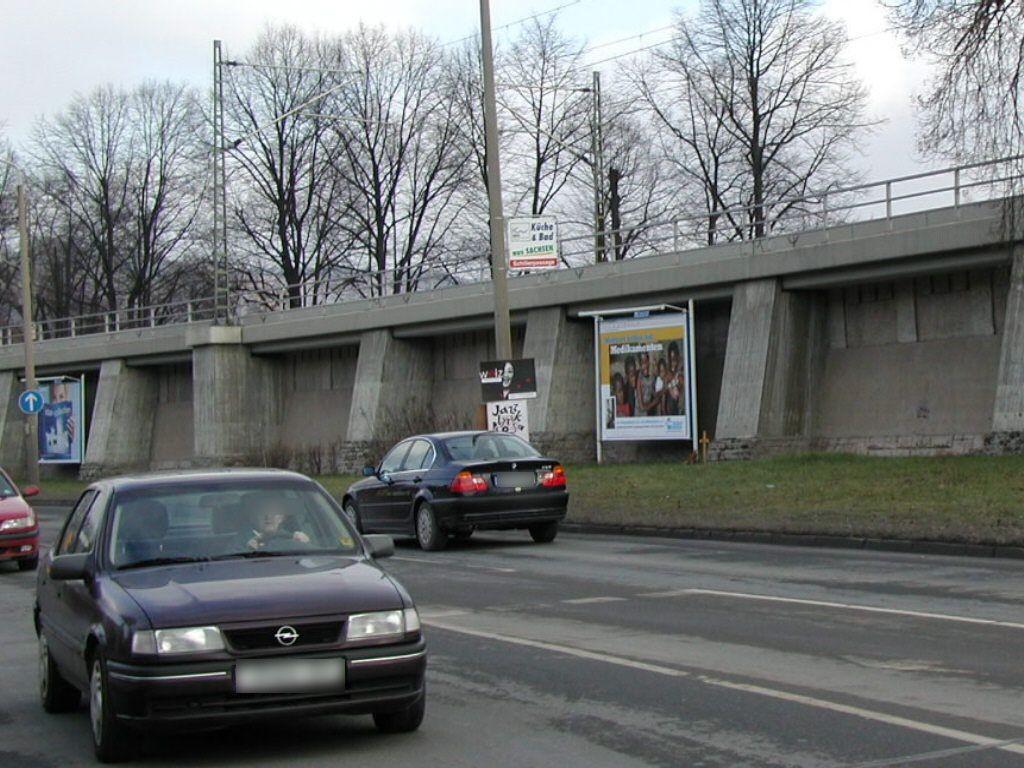 Am Eisenbahndamm re. Nh. Paradiesbrücke