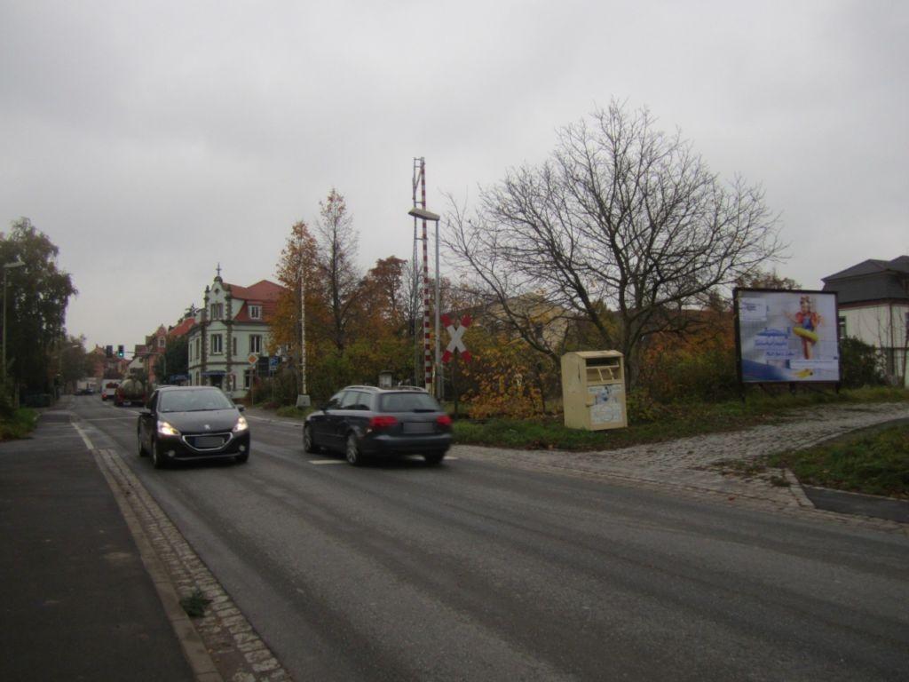 Frankenwinheimer Str./Bahnüberg. re./VS sew.