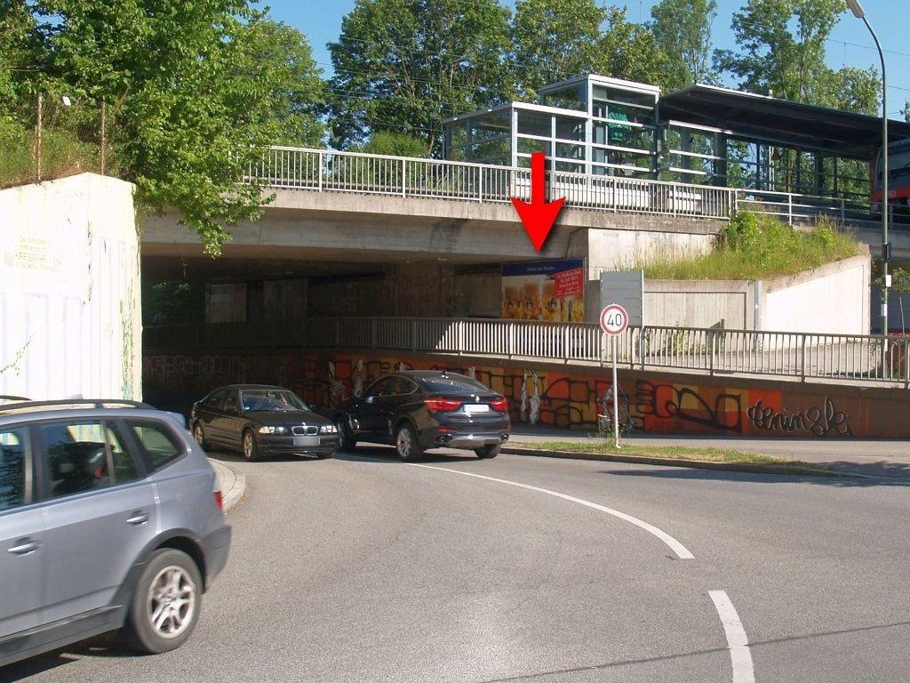 Lochhamer Str./ DB-Ufg. re/S-Bahn-Zugang sew.