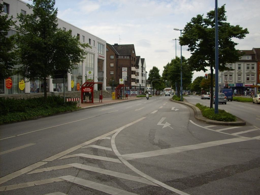 Wilhelmstr./HST Marktstr./Ri. Gelsenk./We.li.