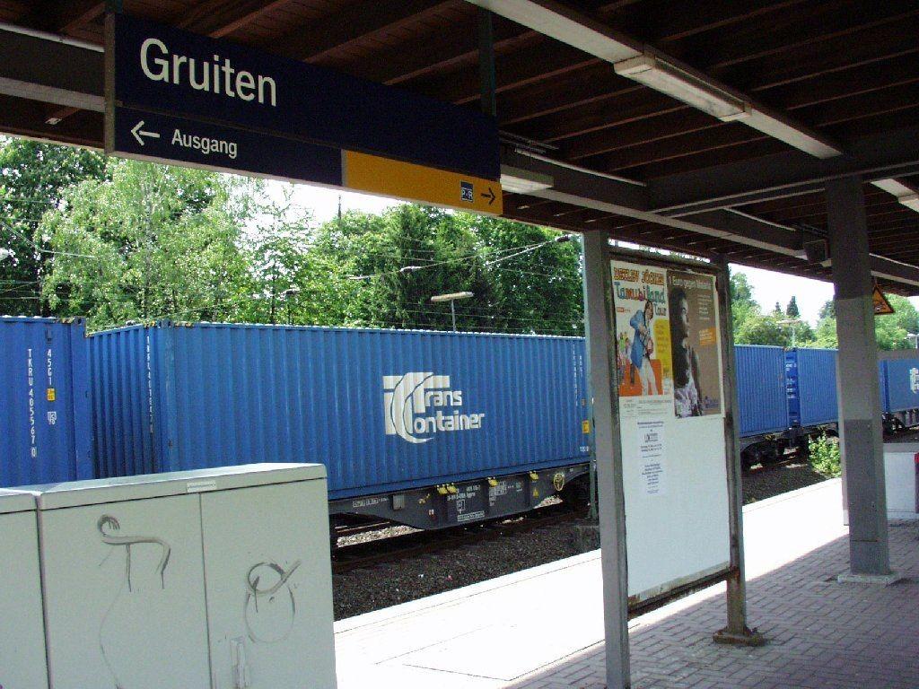 S-Bf Gruiten, Bstg., Gleis 3/4 /RS