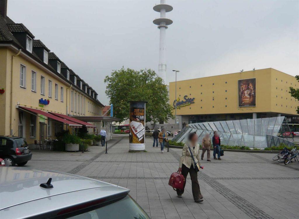 Hbf./Bf -Vorplatz