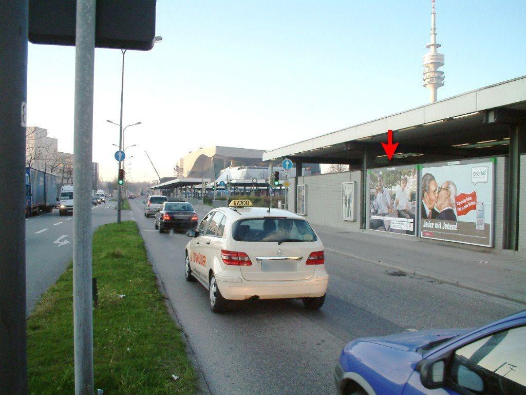 Olympiazentrum/Lerchenauer Str. geg. BMW li.