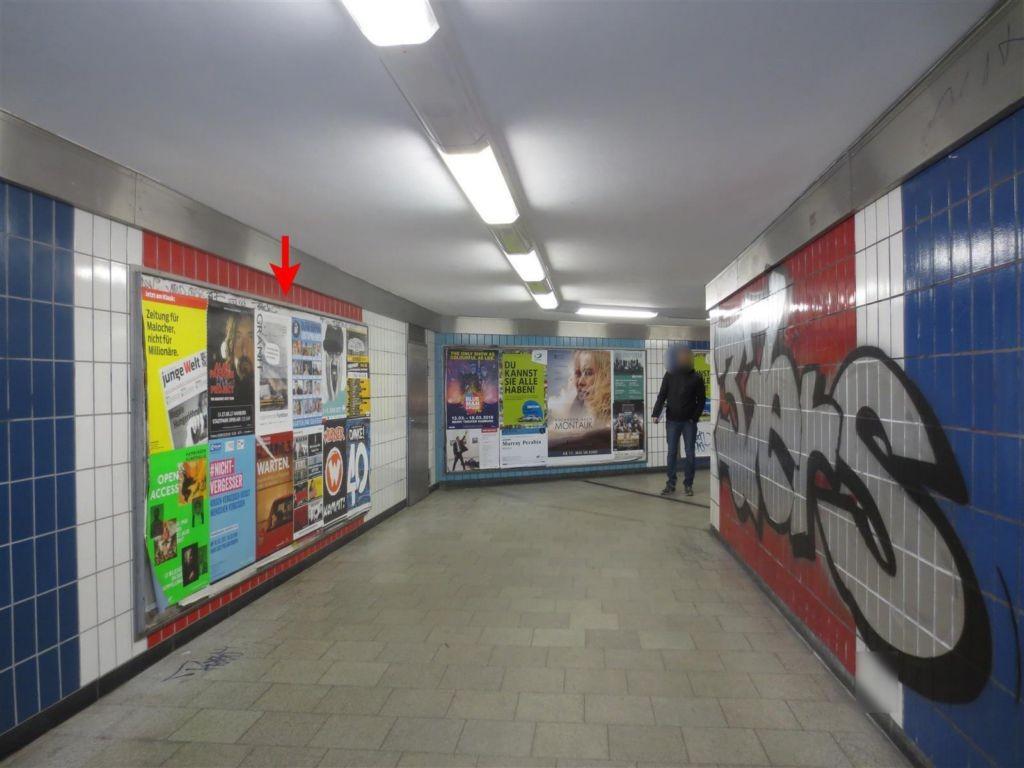 U-Bf Burgstr. Tunnel Ri. Ausg. Grevenweg 1. Sto.