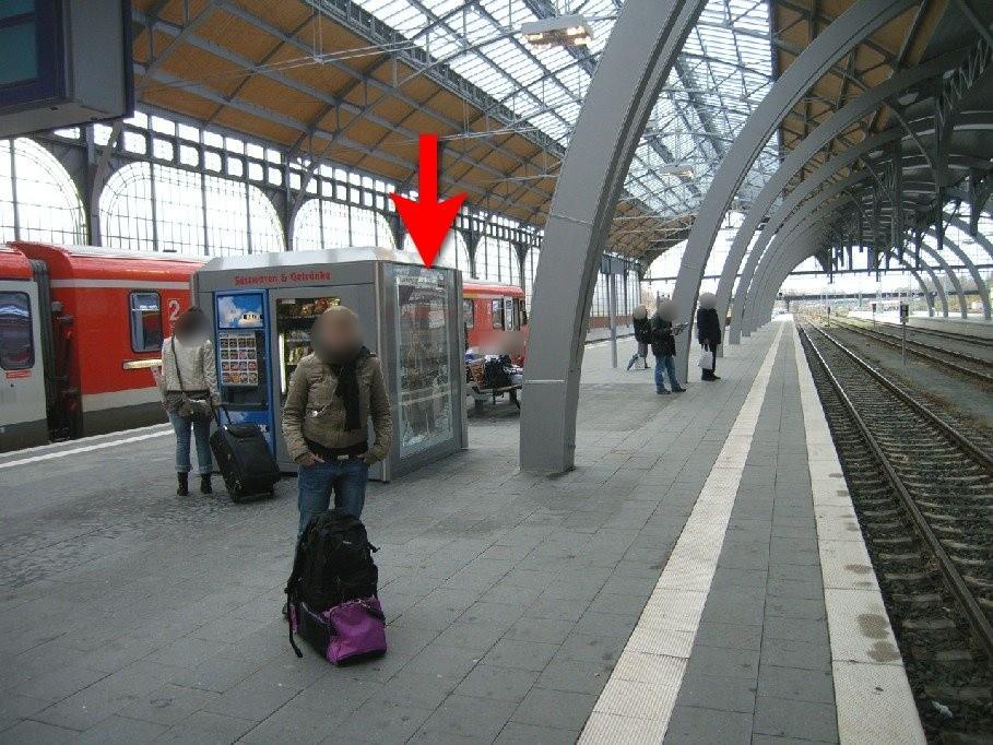 Hbf, Bahnsteig Gleis 2 im Warenautomat