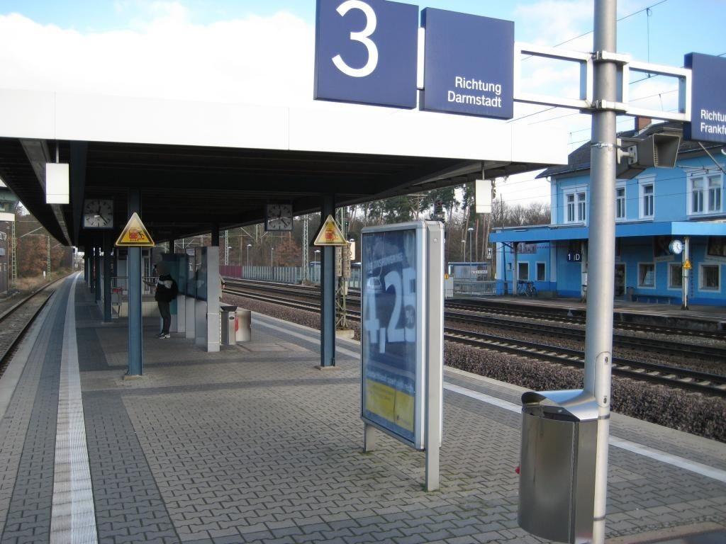 S-Bf Neu-Isenburg, Bstg. Ri. Langen, 3.Sto.