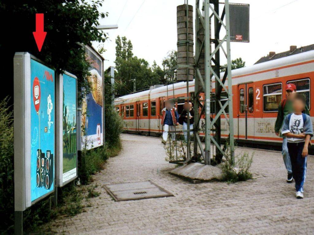 S-Bf Sindlingen, Bstg., Ri. Wiesbaden 1. Sto.