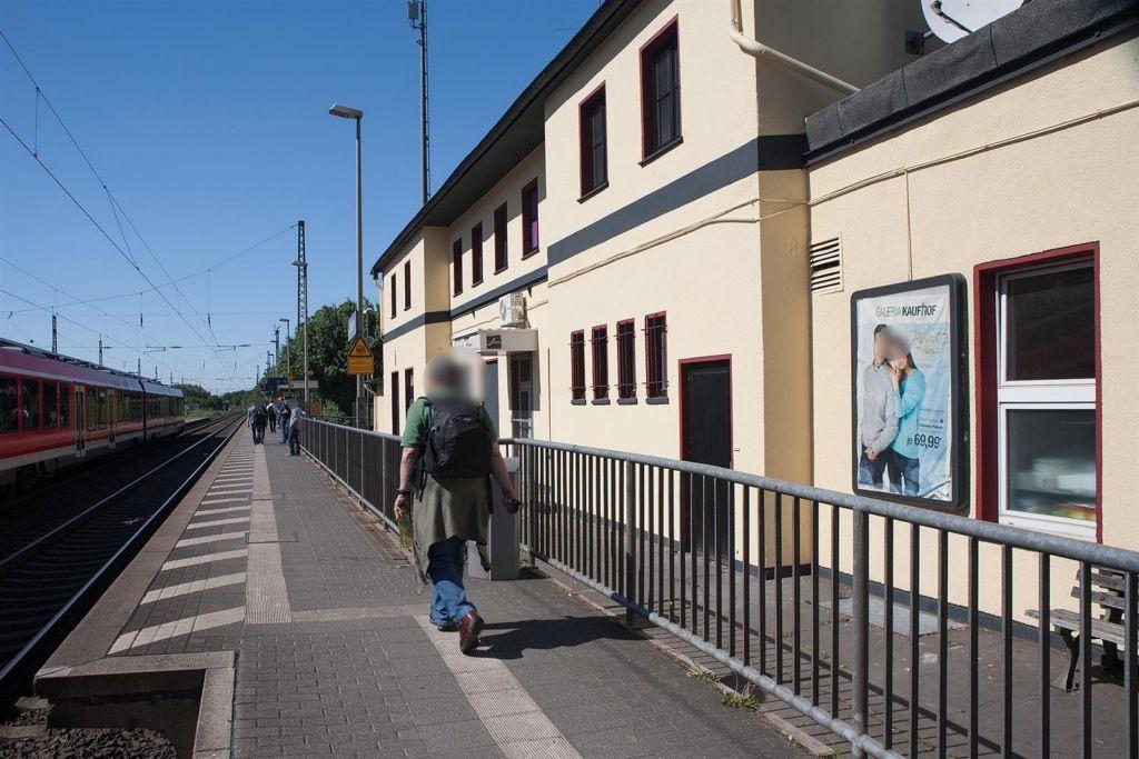 Bf Mehlem,Bf-Gebäude, SichtGleise