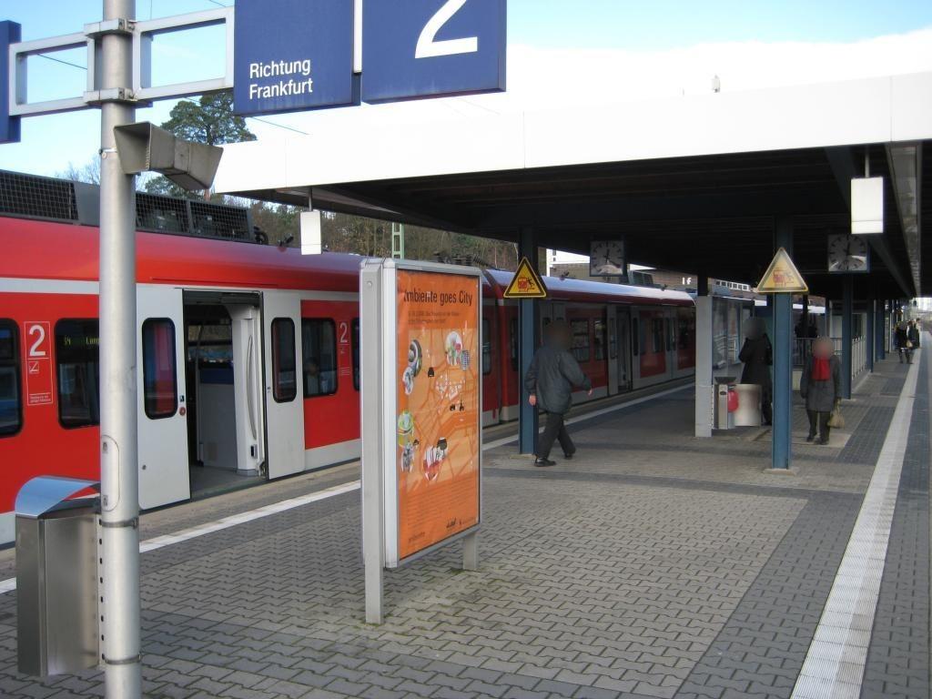 S-Bf Neu-Isenburg, Bstg. Ri. Bad Soden, 1.Sto.