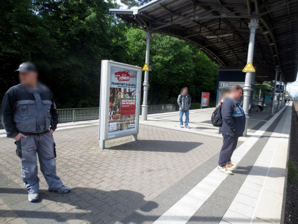 Bf Buchschlag, Bstg.,Ri. Frankfurt,1.Sto.