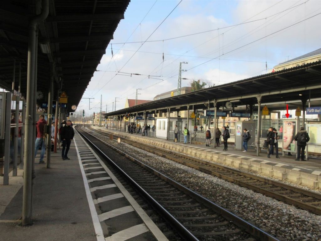 Hbf, Bstg., Gleis 3, 2. Sto.