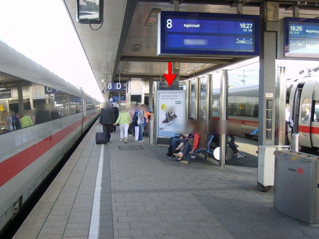 Hbf, Bstg., Gleis 8/9, Windschutz, GL. 8, 3. Sto.
