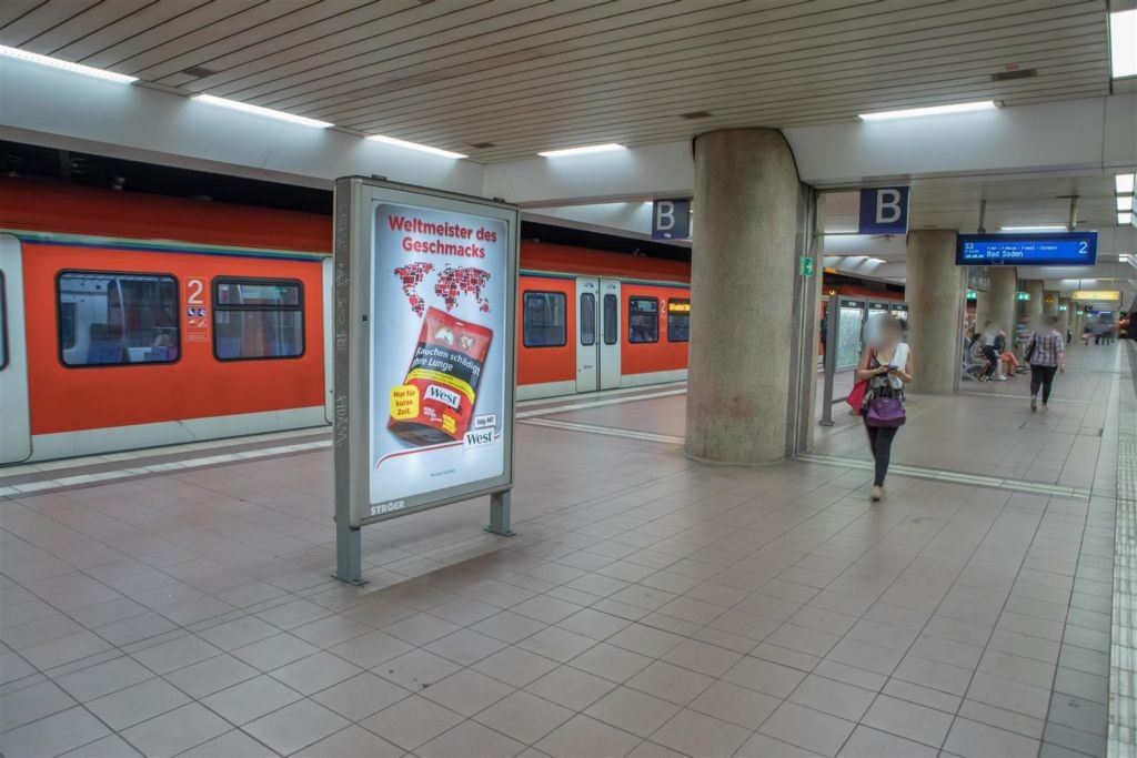 S-Bf Lokalbahnhof,Bstg., Gl. 2, 2. Sto., Abschn.B