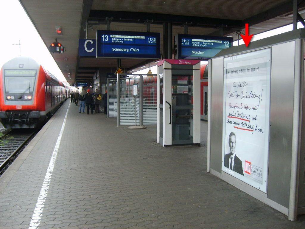Hbf, Bstg., Gleis 13, Automat