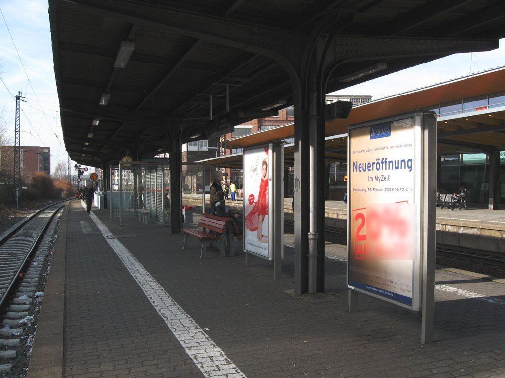 Bf Rüsselsheim Bstg. Gleis 3 Treppenabgang