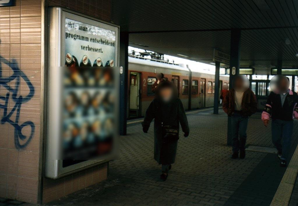 S-Bf Süd, Bstg., Gleis 1, 3. Sto.