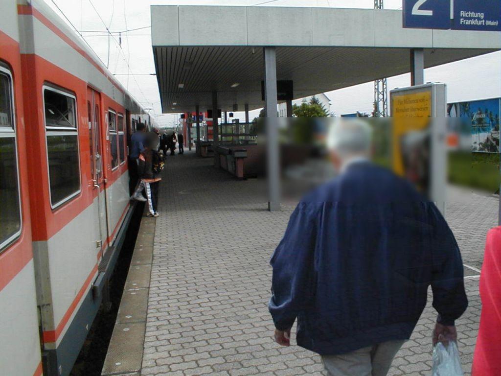 S-Bf Kriftel, Bstg. Gleis 2 rechts