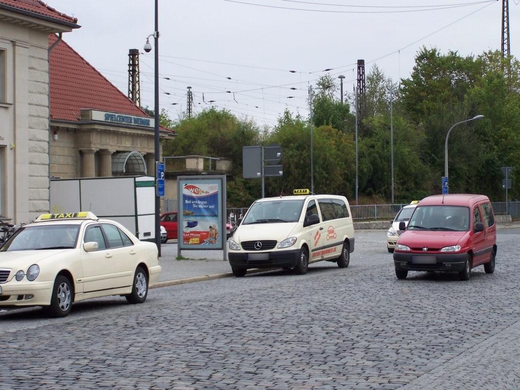 Hbf, Bahnhofsvorplatz, Si. Haupteingang