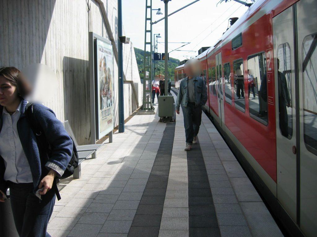 Bf Neckargemünd-Altstadt, Bstg.,Gleis 1