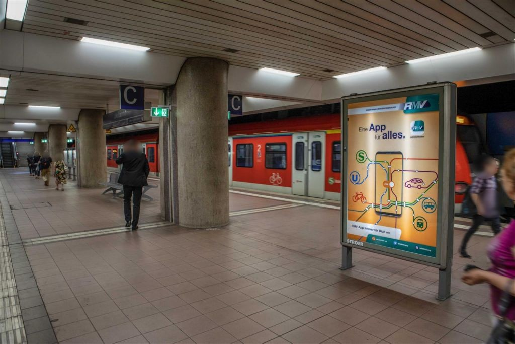 S-Bf Lokalbahnhof,Bstg., Gl. 1, 1. Sto., Abschn. C
