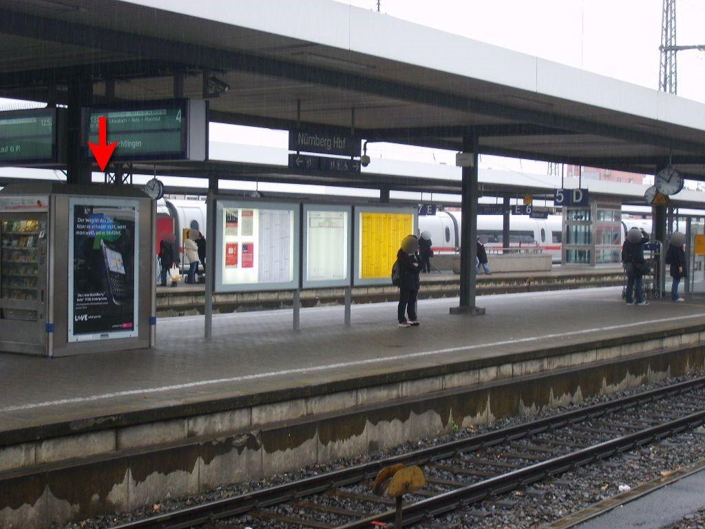Hbf, Bstg., Gleis 4, Automat