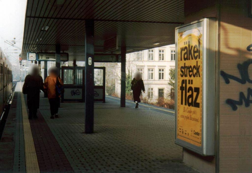 S-Bf Süd, Bstg., Gleis 2, 1. Sto.