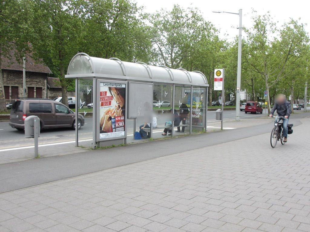 Leonhardplatz/Stadthalle Ri. Bf. RW außen
