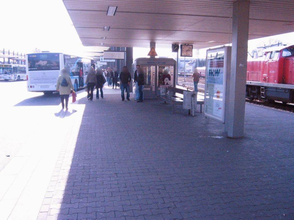 S-Bf Berg. Gladbach,Bstg., Sicht Bus-Bf,1 Sto.