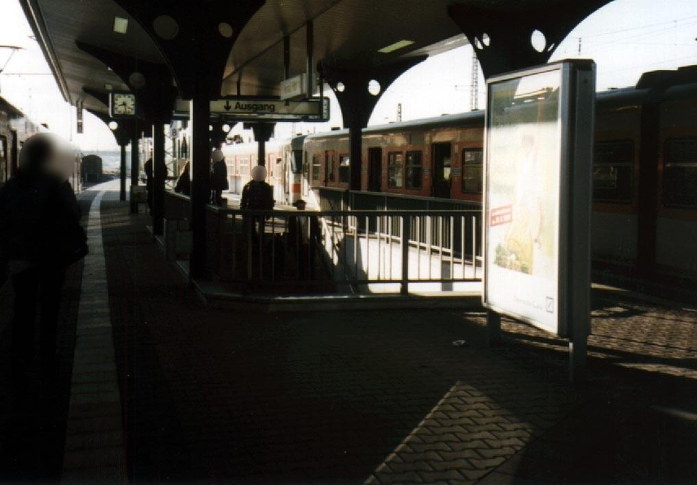 Hbf, Bahnsteig, Gleis 1