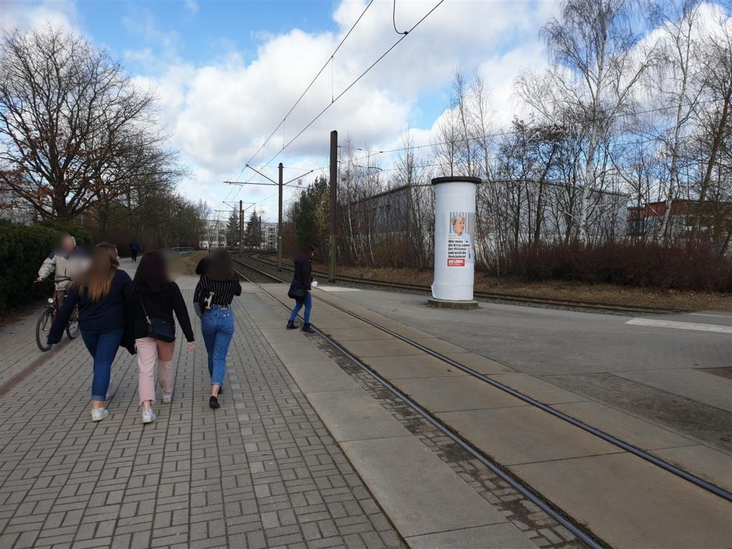 Lankow-Siedlung/Straßenbahn-HST