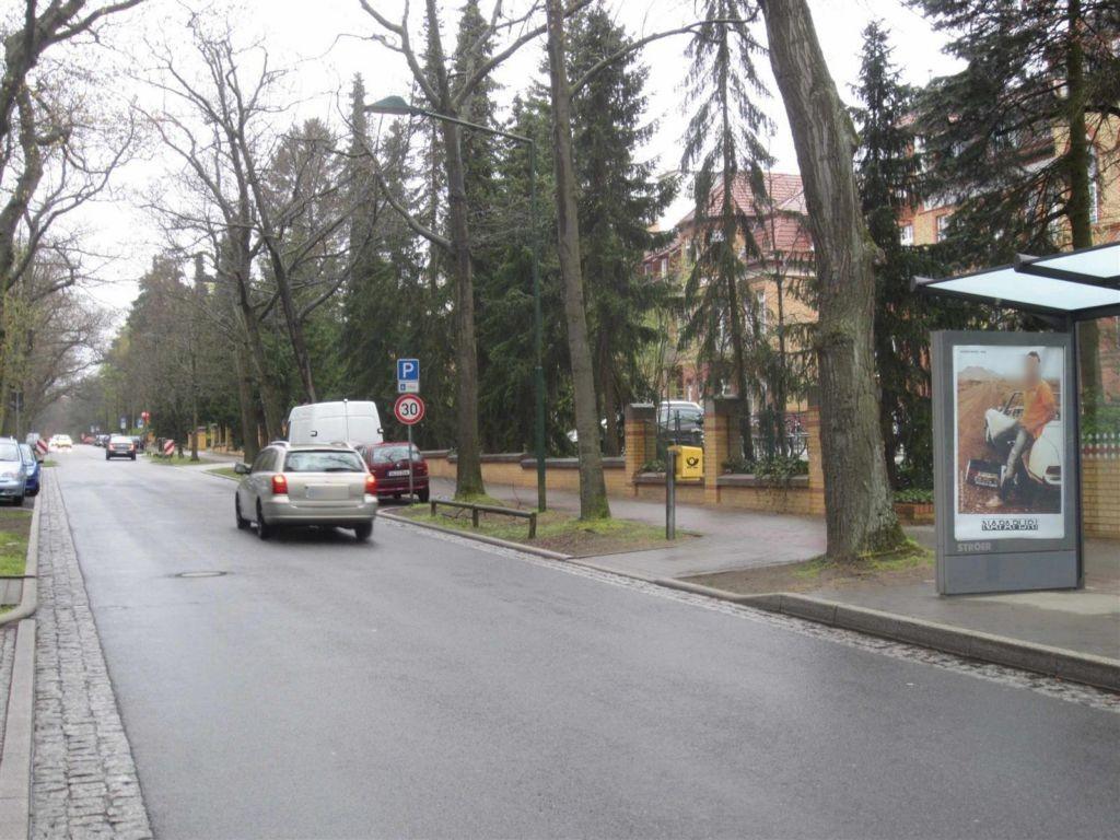 Rudolf-Breitscheid-Str. vor Krankenhaus/We./re.