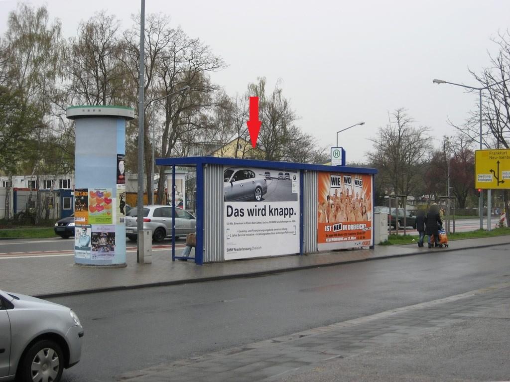 Frankfurter Str./R.-Bosch-Str./Ri. Neu-Isen/RS li.