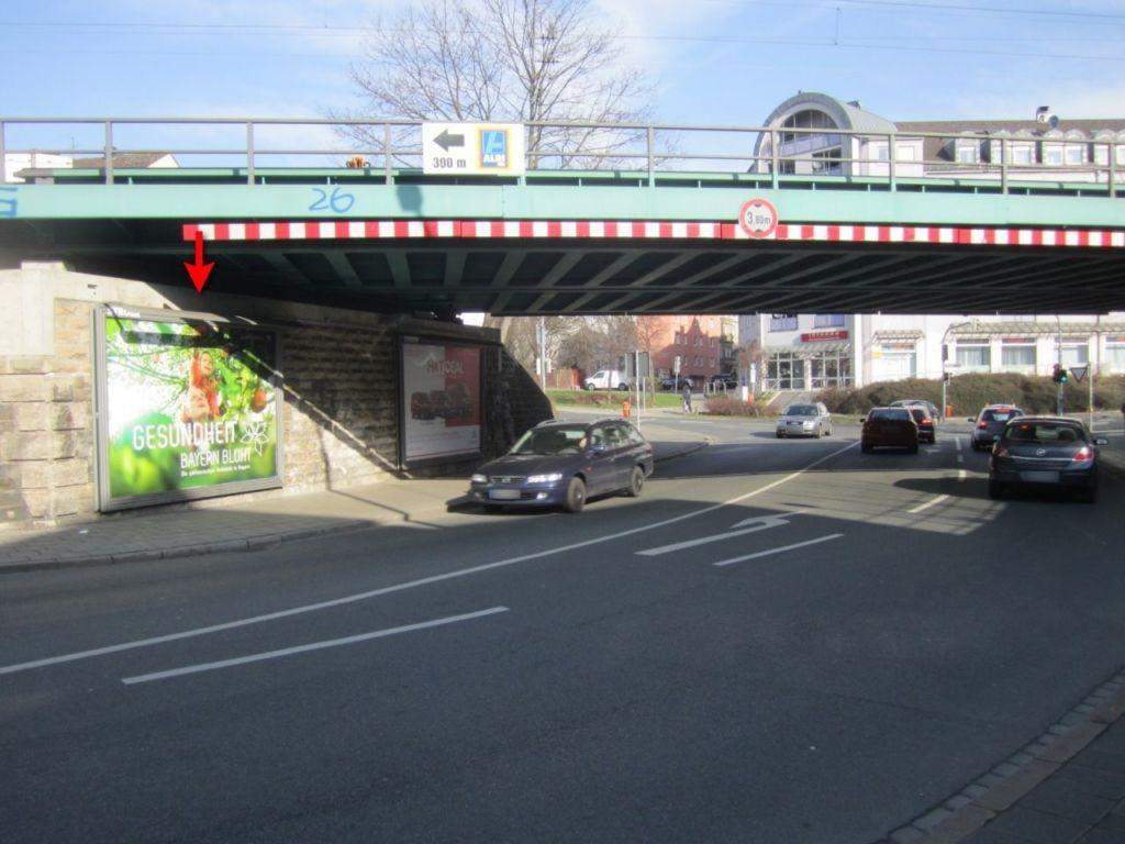 Schweinauer Hauptstr./DB-Brücke saw.