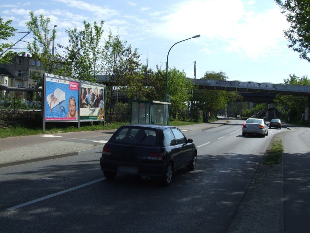 Friedrich-Engels-Str. Nh. Nuthe-Brücke re.