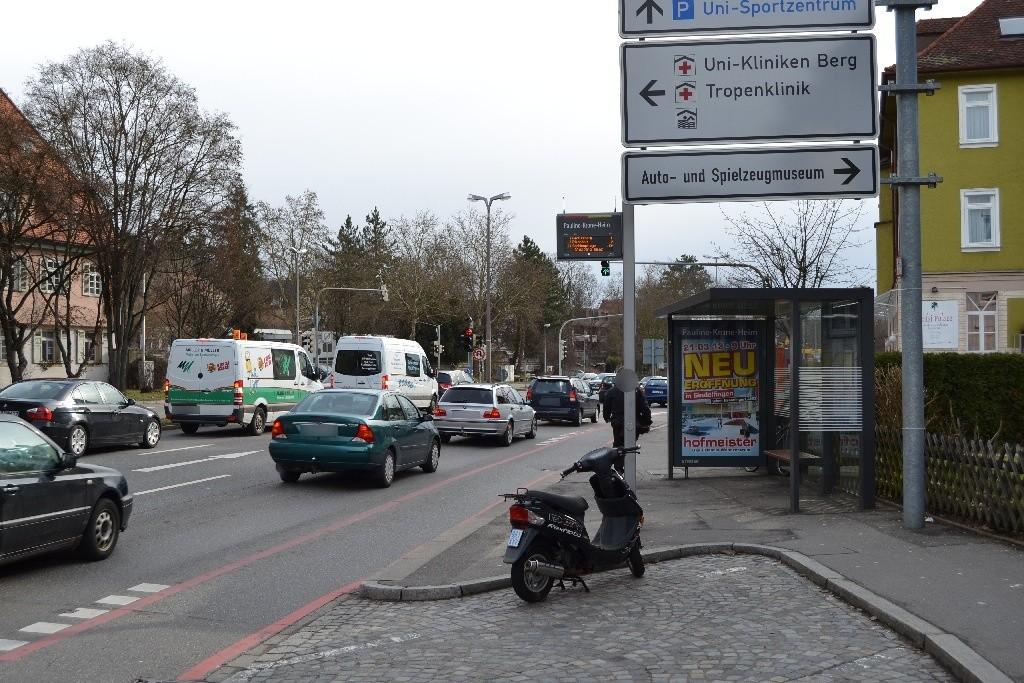 Wilhelmstr.  84/HST Pauline-Krone-Heim saw./We.re.