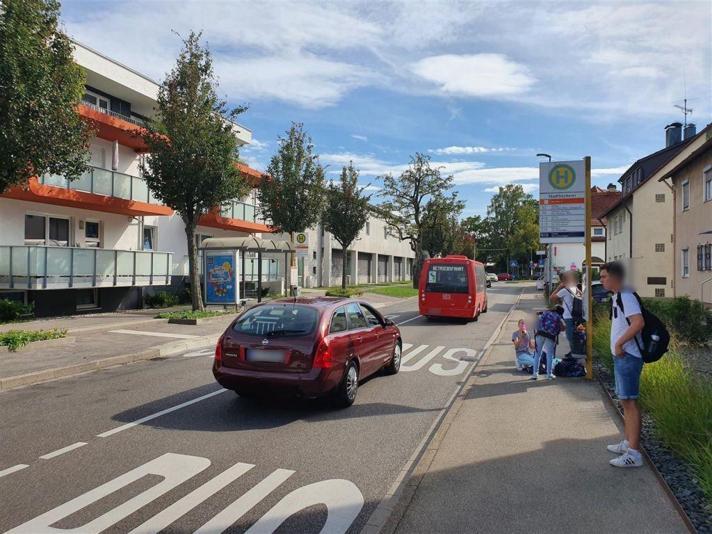 Bahnhofstr./Bibliothek li. Neuer Markt/We.li.