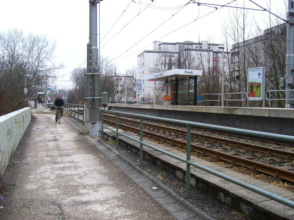 Stuttgarter Str. saw./Stadtbahn/ HST Frank