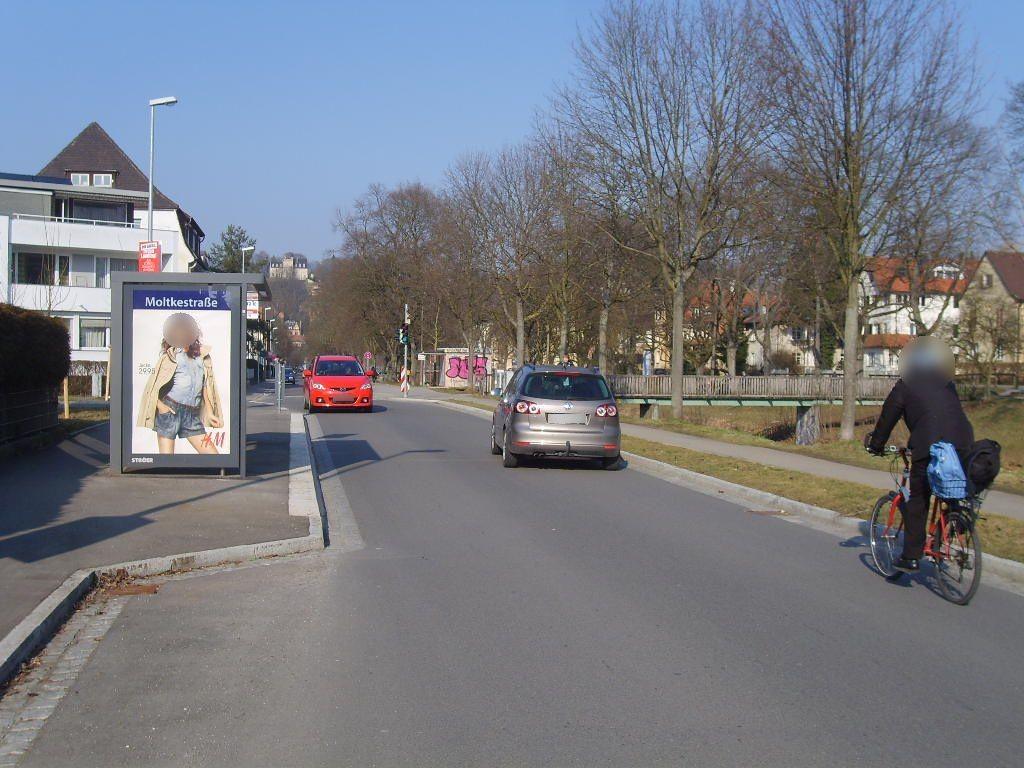 Steinlachallee/Moltkestr./HST Moltkestr./We.li.