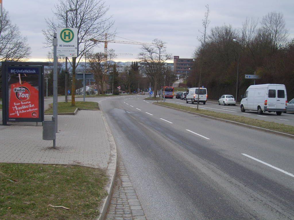 Schnarrenbergstr./Unfallkl.geg./HST U-Kl.aw We.li.