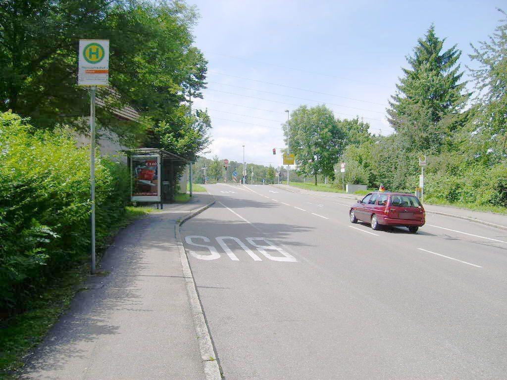 Hohenheimer Str./ HST Pliensaufriedhof/ We.li.