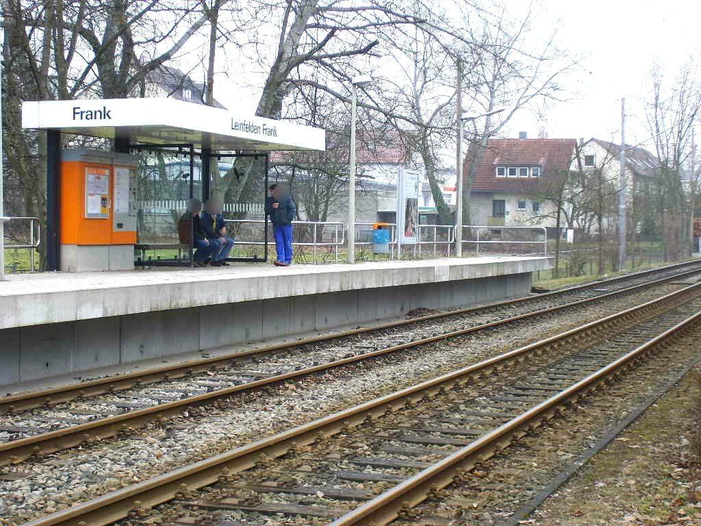 Stuttgarter Str. sew./Stadtbahn/ re/ HST Frank/ VS