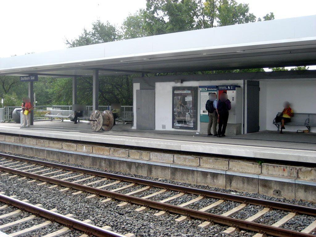 S-Bf Süd, Bahnsteig Ri Frankfurt