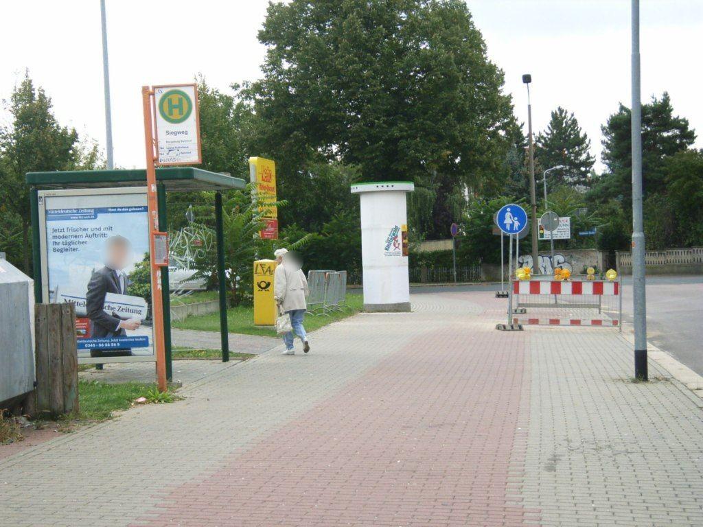 Oeltzschner Str./Siegweg we.li.