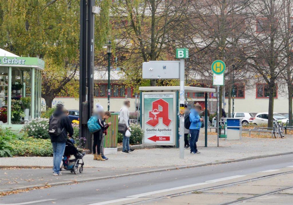 Olvenstedter Platz  10/Nh. Sudermannstr. We.li.