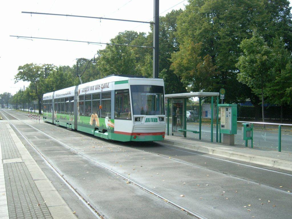 Herrenkrugstr./Elbauenpark Eing. Rosengarten VS