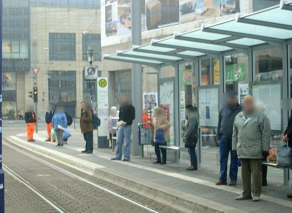 Breiter Weg/Alter Markt Ri. Hbf. li. VS