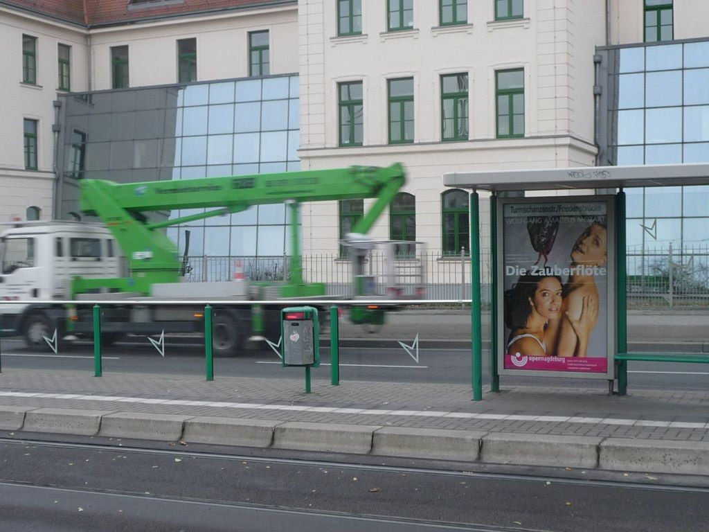 Markgrafenstr./Turmschanzenstr. saw. VS