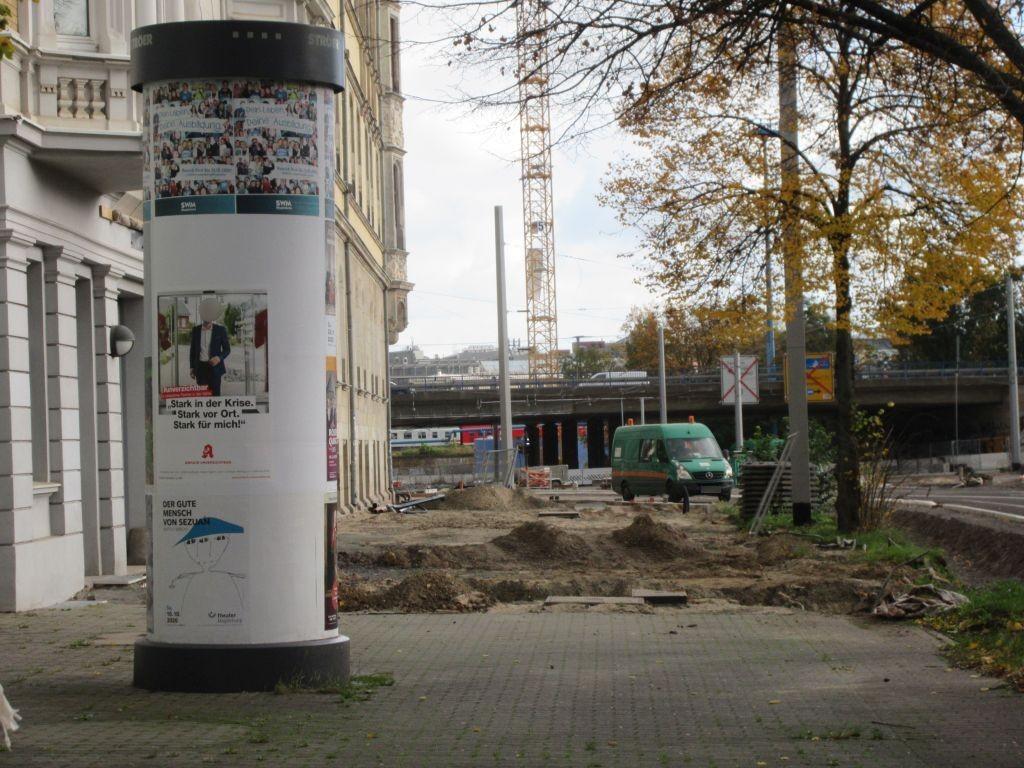 Olvenstedter Str./Höhe Nr. 3 geg. M.-Gorki-Str.