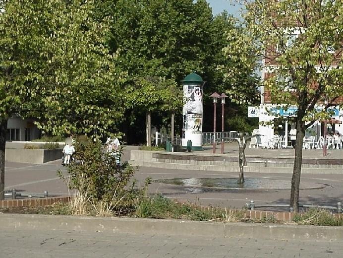 Olvenstedter Markt/Nordabgang