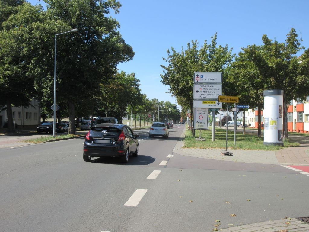 Berliner Chaussee  39/Dessauer Str.
